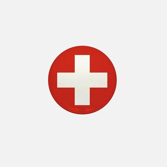 Switzerland Mini Button