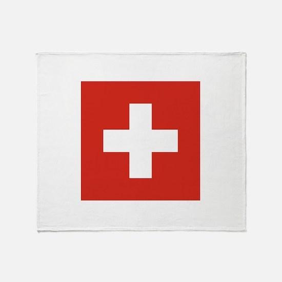 Switzerland Throw Blanket