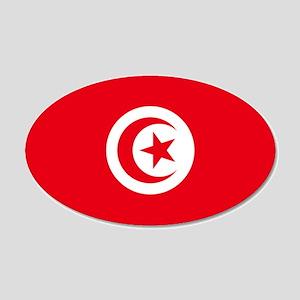 Tunisia 22x14 Oval Wall Peel
