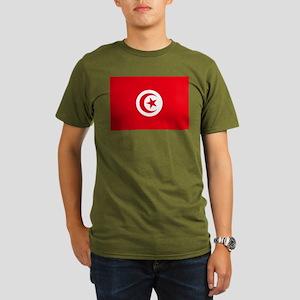Tunisia Organic Men's T-Shirt (dark)