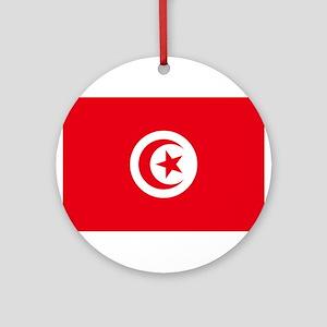 Tunisia Ornament (Round)
