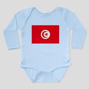 Tunisia Long Sleeve Infant Bodysuit