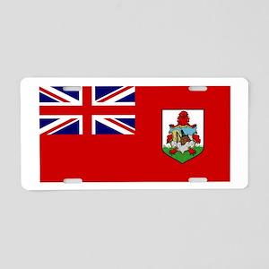 Bermuda Aluminum License Plate