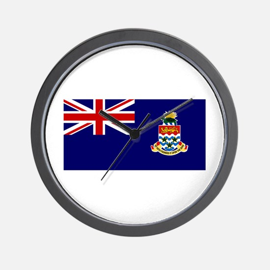 The Cayman Islands Wall Clock