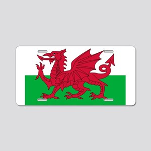 Wales Aluminum License Plate