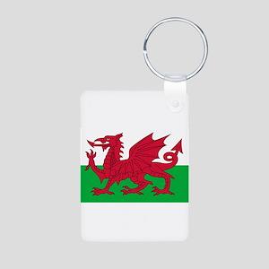 Wales Aluminum Photo Keychain