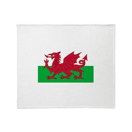 Wales Throw Blanket