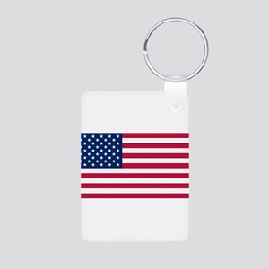 United States of America Aluminum Photo Keychain