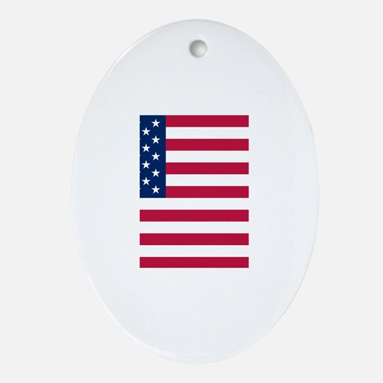 United States of America Ornament (Oval)