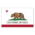 California Sticker (Rectangle 10 pk)