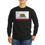 California Long Sleeve Dark T-Shirt