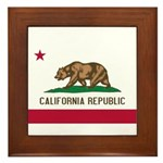 California Framed Tile