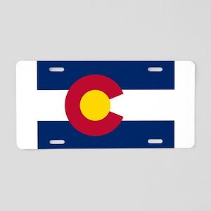 Colorado Aluminum License Plate