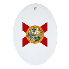 Florida Ornament (Oval)