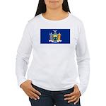 New York Women's Long Sleeve T-Shirt