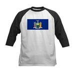 New York Kids Baseball Jersey