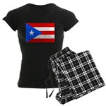 Puerto Rico Women's Dark Pajamas