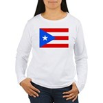 Puerto Rico Women's Long Sleeve T-Shirt