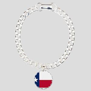Texas Charm Bracelet, One Charm