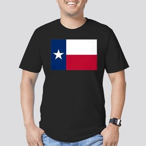 Texas Men's Fitted T-Shirt (dark)