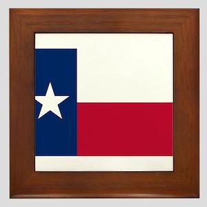 Texas Framed Tile