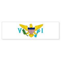 U.S. Virgin Islands Sticker (Bumper)
