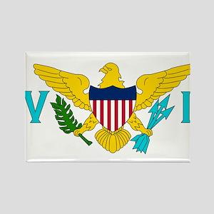 U.S. Virgin Islands Rectangle Magnet