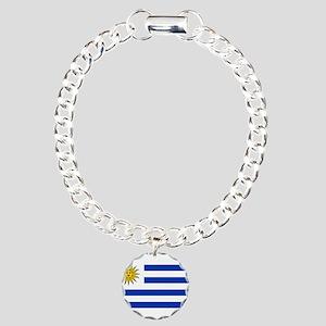 Uruguay Charm Bracelet, One Charm