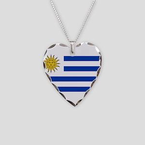 Uruguay Necklace Heart Charm