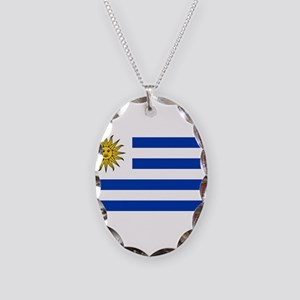 Uruguay Necklace Oval Charm