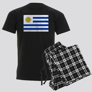 Uruguay Men's Dark Pajamas