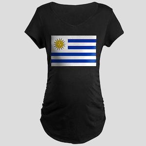 Uruguay Maternity Dark T-Shirt