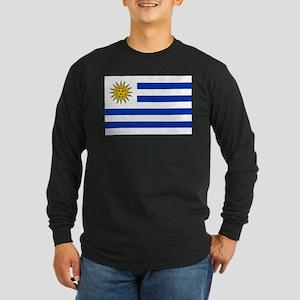 Uruguay Long Sleeve Dark T-Shirt