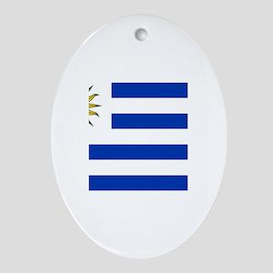 Uruguay Ornament (Oval)