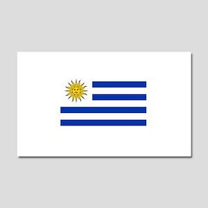 Uruguay Car Magnet 20 x 12