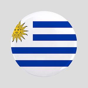 """Uruguay 3.5"""" Button"""