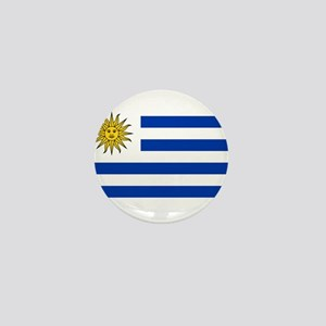 Uruguay Mini Button