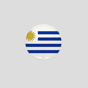 Uruguay Mini Button
