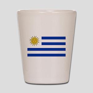 Uruguay Shot Glass
