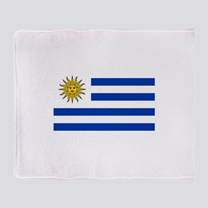 Uruguay Throw Blanket