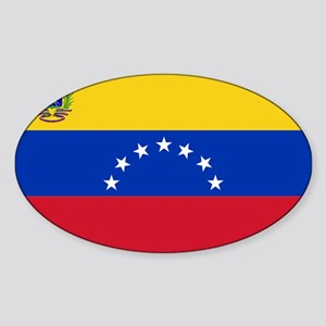 Venezuela Sticker (Oval)