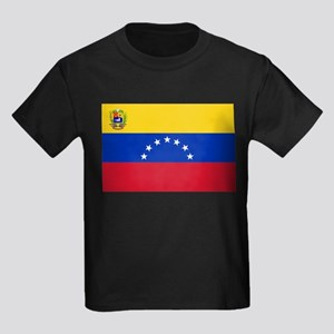 Venezuela Kids Dark T-Shirt