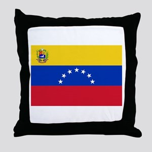 Venezuela Throw Pillow