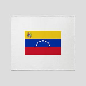 Venezuela Throw Blanket