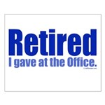 Retirement Small Poster