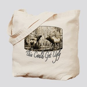 Elk rumble Tote Bag