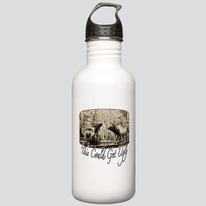 Elk rumble Stainless Water Bottle 1.0L