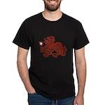 Red Dragon Black T-Shirt