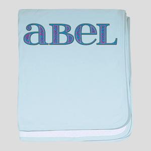 Abel Blue Glass baby blanket