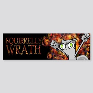 Foamy : Squirrelly Wrath Sticker (Bumper)